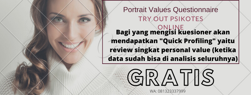 Try Out Psikotes Online PVQ RR Gratis