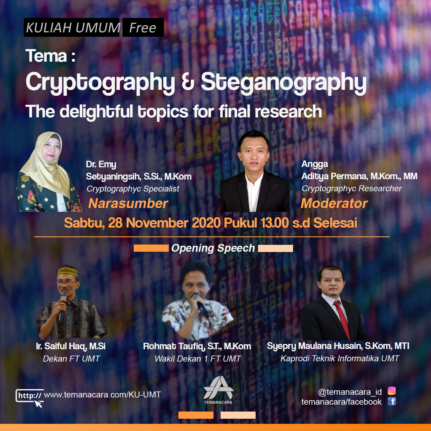 """Cryptography & Steganography the delightful topics for final research"""