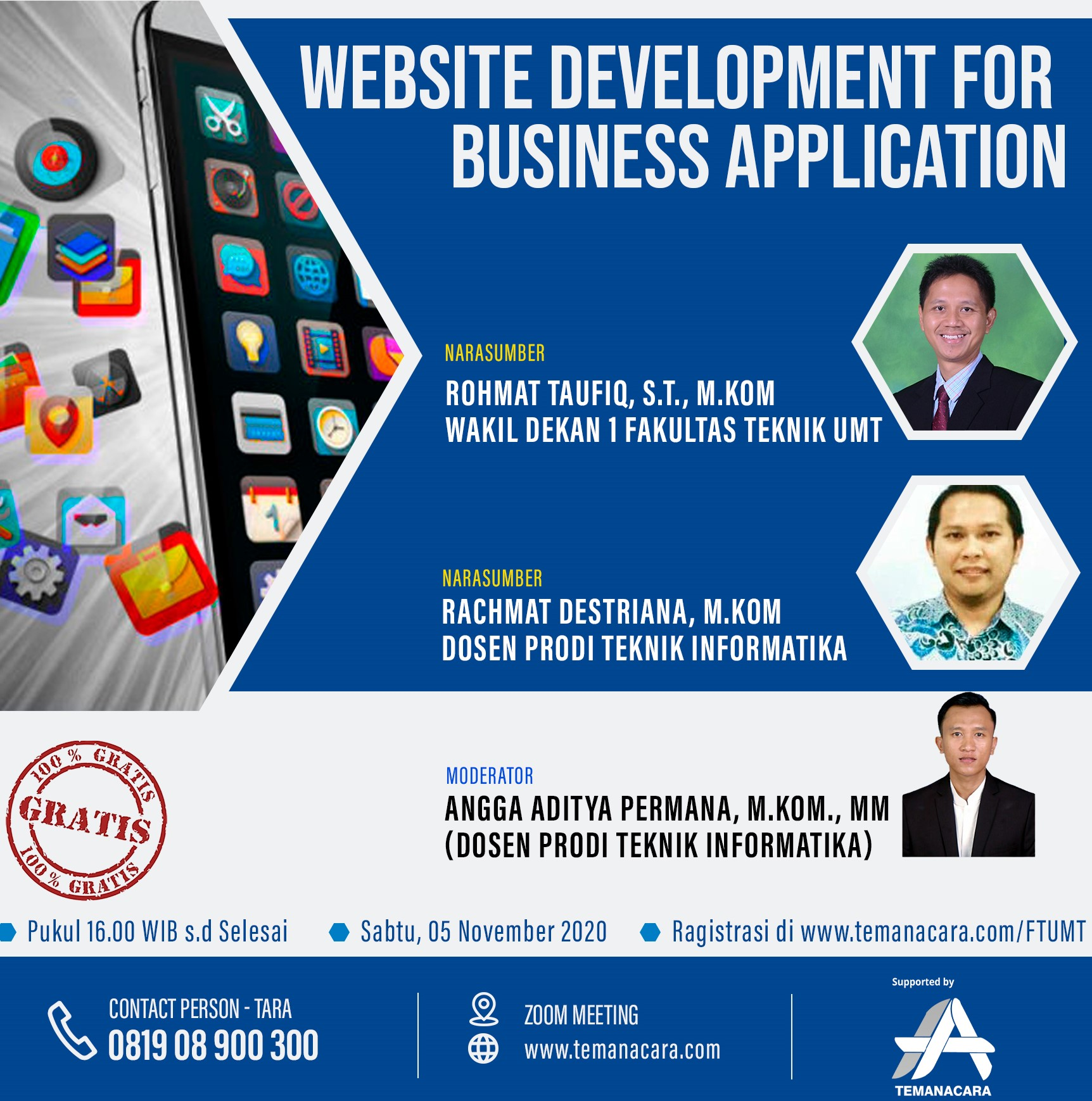 Website Development for business application
