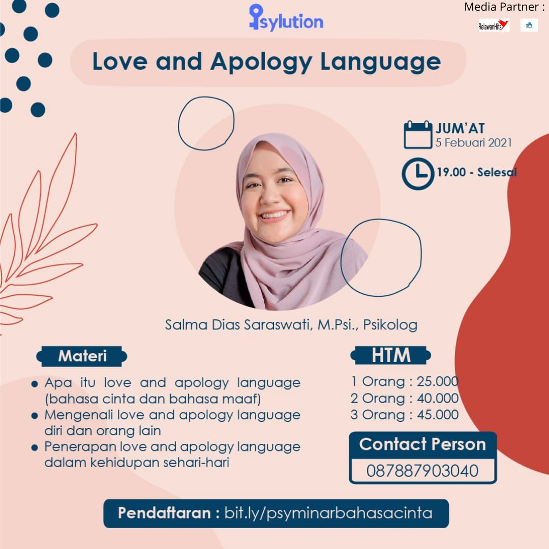 love and apology language!
